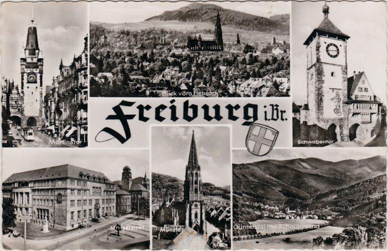 Günterstal-Freiburg im Breisgau Mehrbild: Münster, Martinstor, Schwabentor, Universität un