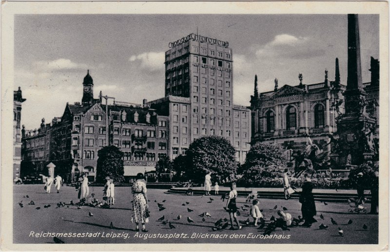 Leipzig Augustusplatz - Europahaus