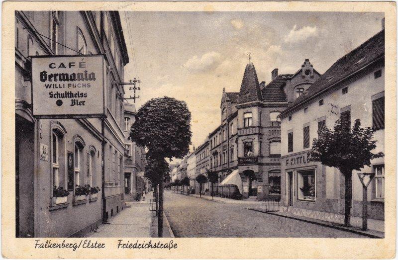 Falkenberg (Elster) Friedrichstrasse- Cafe Bermania