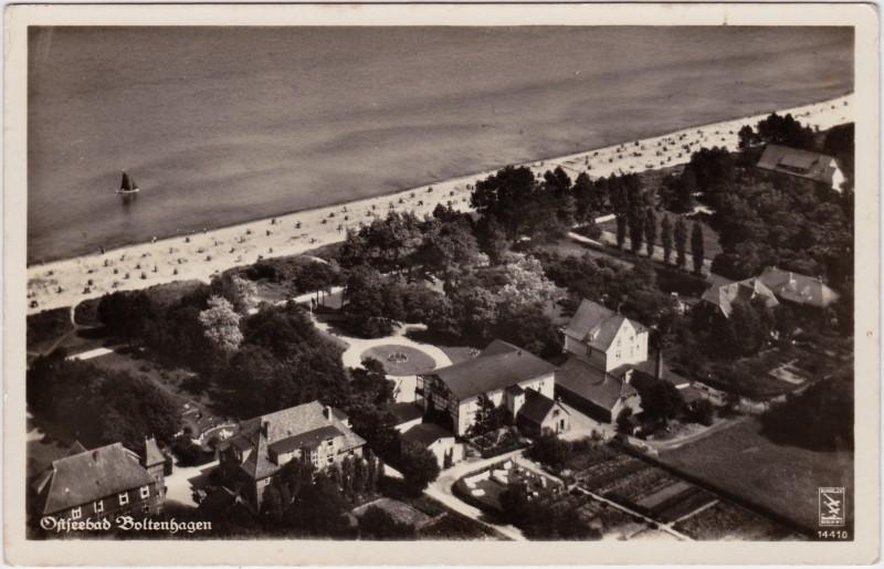 Boltenhagen Luftbild mit Strand und Anlagen