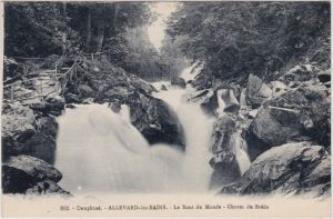 Allevard Allevard-les-Bains Le Bout du Monde. Chutes de Bréda. 1913
