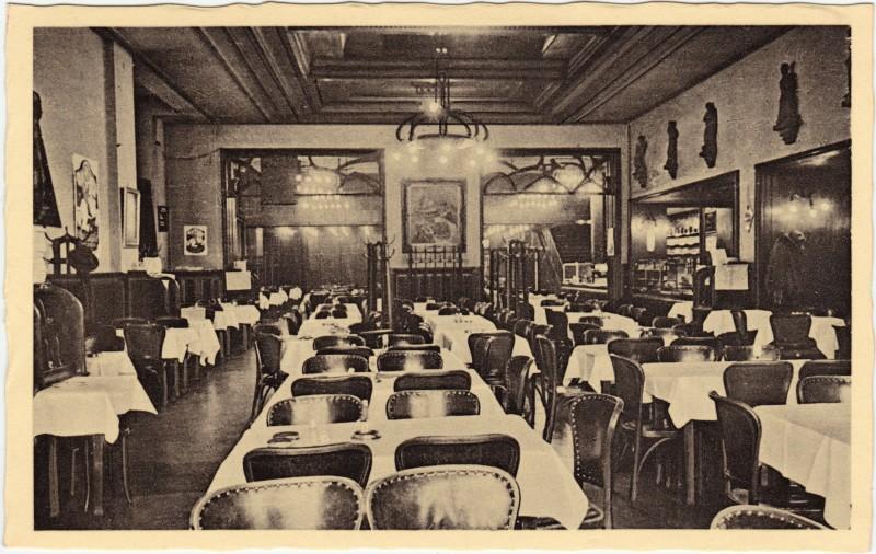 Mitte-Berlin Saal - Restaurant Pschorr-Haus, Potsdamer Platz 1932