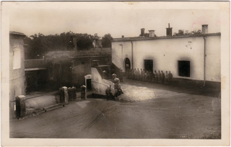 Olmütz Olomouc Apell - Kaserne (Privataufnahme) 1931