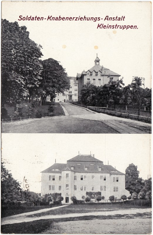 Struppen (Sächsische Schweiz) 2 Bild: Soldaten-Knabenerziehungsanstalt 1919