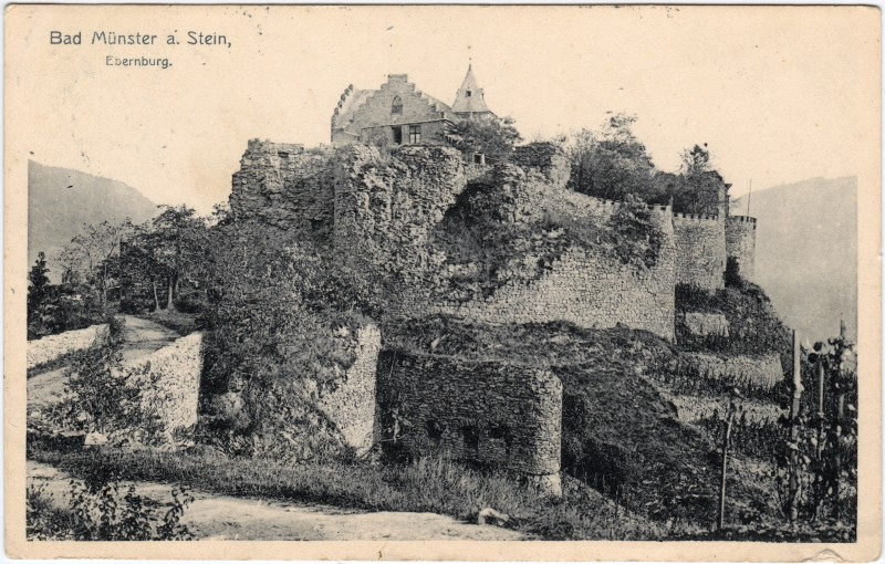 Ebernburg-Bad Münster am Stein-Ebernburg Ebernburg 1909
