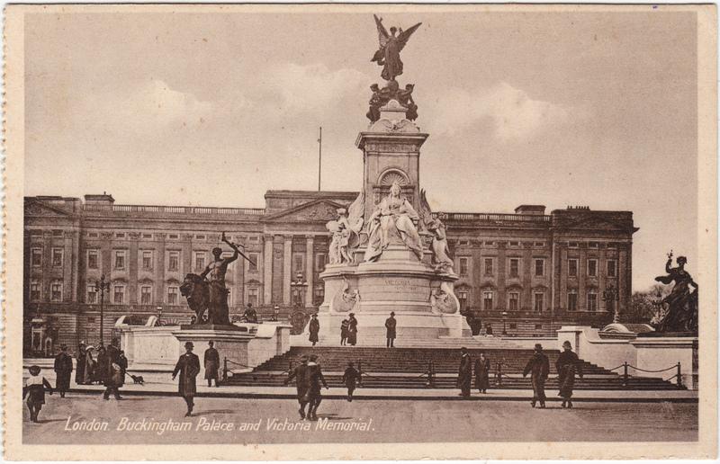 London Buckingham Palace 1930