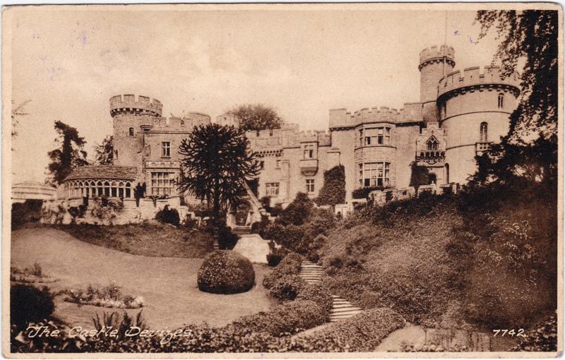 Devizes The Castle Vintage Postcard 1931