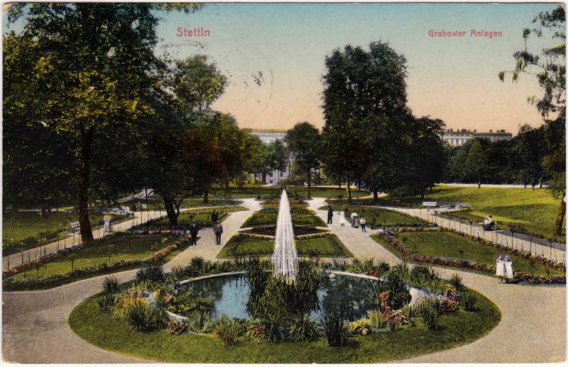 Grabow Grabowo Grabower Anlagen 1914