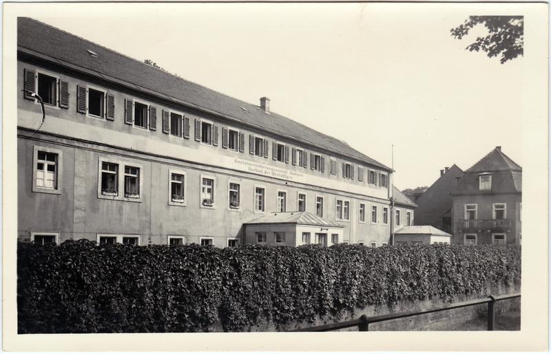 Berggießhübel-Bad Gottleuba-Berggießhübel Sozialversicherungsanstalt Sachsen - Kurbad der Werkt&auml