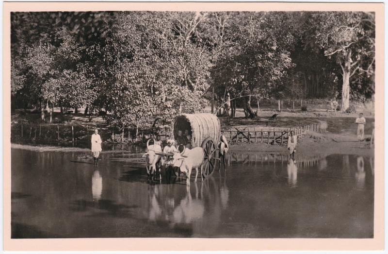 Missionar auf Predigtreise - Ostindien 1930