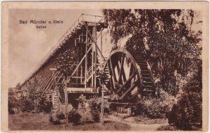 Bad Münster am Stein-Bad Münster am Stein-Ebernburg Saline 1918