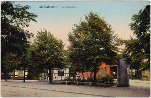 Altrahlstedt-Hamburg Am Bahnhof 1913