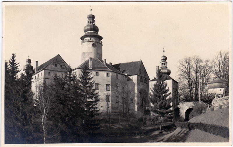 Deutsch Gabel Jablonné v Podještědí Partie am Schloß 1929