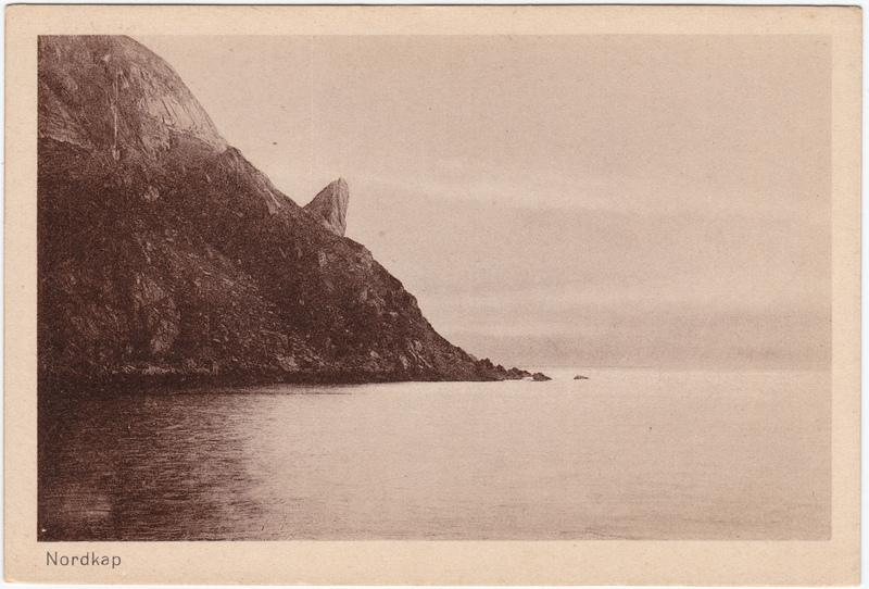 Nordkap Davvinjárgga Nordkapp Finnmark Norge Norway 1924
