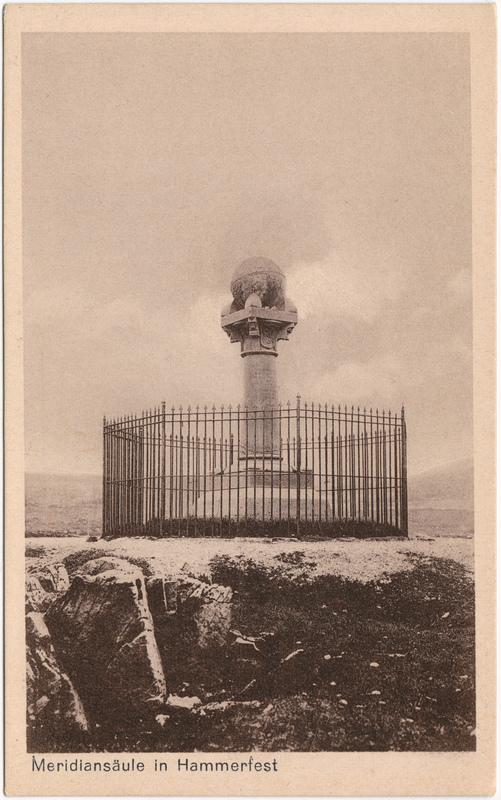 Hammerfest Meridianstøtten 1924