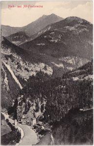 Altfinstermünz / Alt-Finstermünz-Nauders Hoch- und Alt-Finstermünz 1904