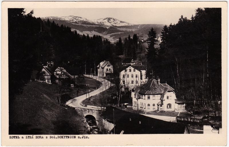 Niederrochlitz-Rochlitz an der Iser Dolní Rokytnice Rokytnice nad Jizerou Kotel a Lysá Hora 1