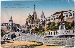 Budapest Fischerbastei 1916