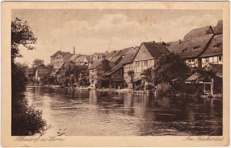 Bad Sooden-Bad Sooden-Allendorf Am Fischerstad 1928