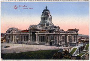 Brüssel Bruxelles Brusel CPA Palais Justice 1916