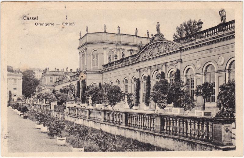 Bad Wilhelmshöhe-Kassel Cassel Orangerie -Schloß 1917
