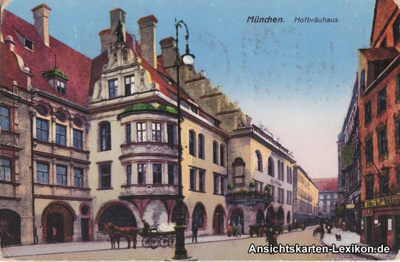 München Hofbräuhaus 1918