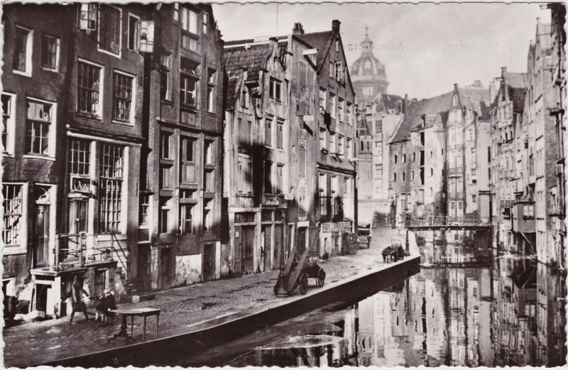 Foto Postcard Amsterdam Amsterdam O. Z. Achterburgwal 1965