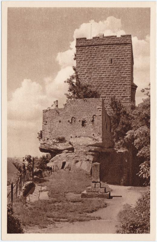 Ansichtskarte Annweiler am Trifels Reichsburg/Ruine Trifels 1934