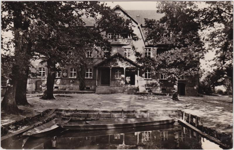 Leipe-Lübbenau (Spreewald) Lipje Lubnjow Konsum - Gaststätte 1959