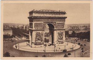 Paris Pariser Triumphbogen / Arc de Triomphe 1936