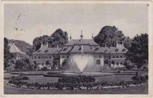 Pillnitz Lustschloss Pillnitz - im Schlossgarten 1937