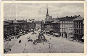 Olmütz Olomouc Wilsonovo namesti (Wilson Platz) 1937