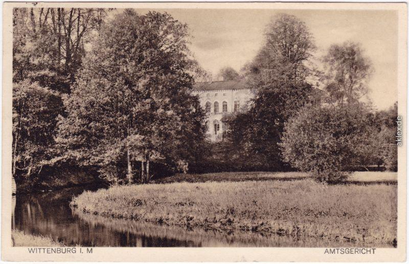 Wittenburg Amtsgericht 1930