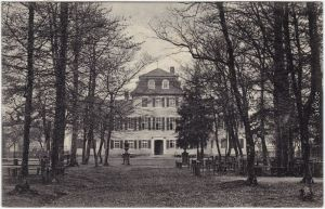 Hermannsfeld-Rhönblick Herzogliches Jagdschloss Fasanerie 1910