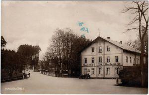 Langebrück-Dresden Drježdźany  Gasthaus Haidemühle 1938