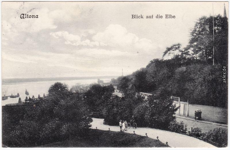 Altona-Hamburg Straßenpartie 1908