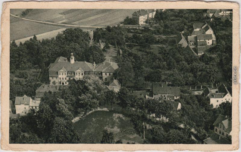 Friederichstanneck-Eisenberg (Thüringen) Luftbild: Gast- und Pensionshaus 1928