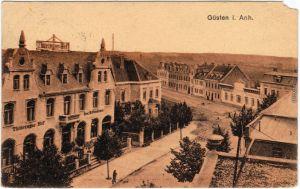 Güsten Straßenpartie  - Thüringer Hof 1918