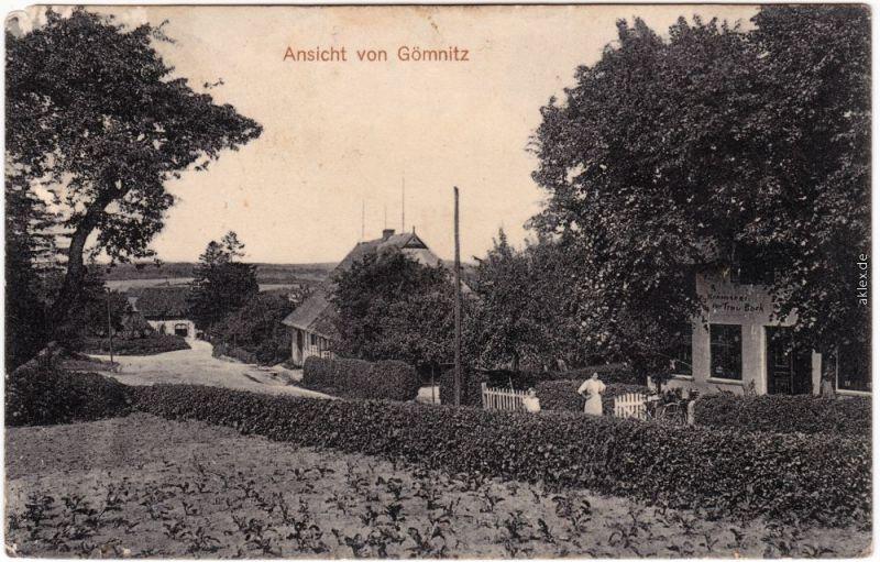 Gömnitz-Süsel Dorfstraße 1914