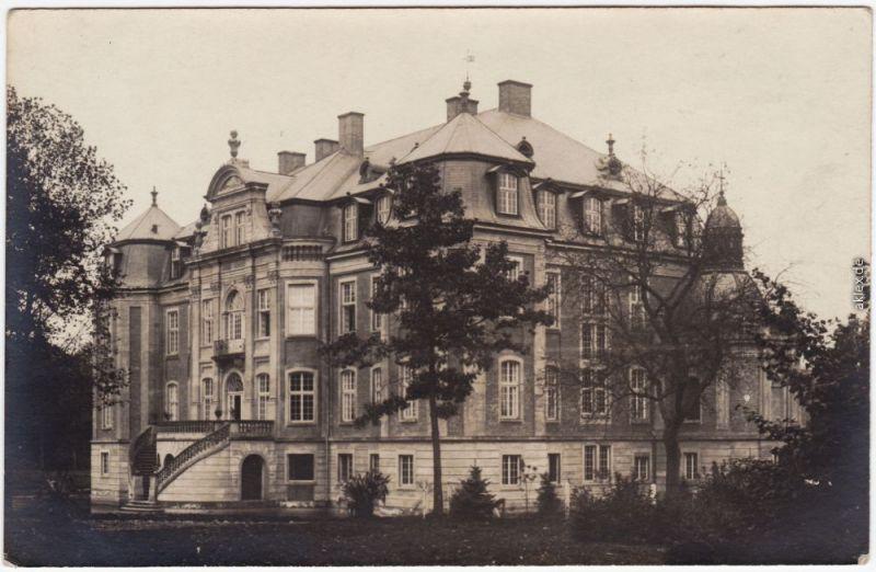 Ostbevern Schloß Loburg (Privatfotokarte) 1918