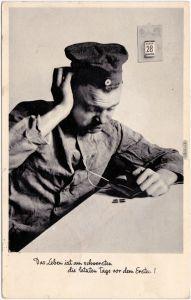 Das Leben ist am schwersten die letzten Tage vor  - Pleite Militaria 1937