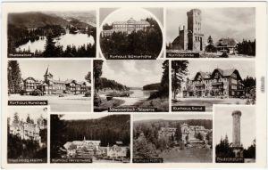 Forbach (Baden) Nördlicher Schwarzwald / Badener Höhe Ansichtskarte  1949