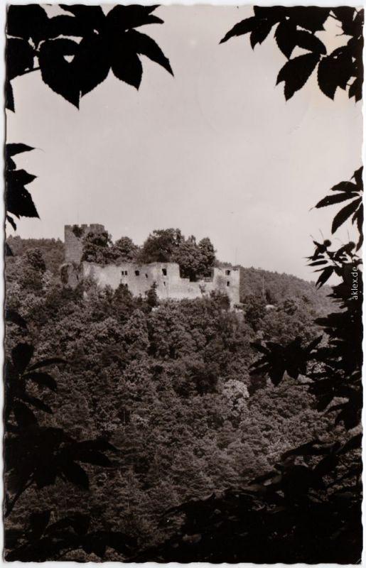 Klingenmünster Burgruine Landeck Klingenmünster an der Weinstraße Foto Ak 1962