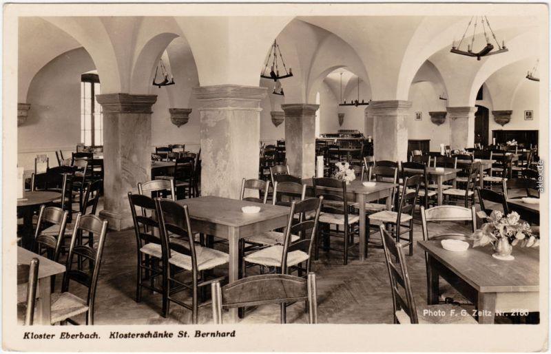 Eltville am Rhein Kloster Eberbach, Klosterschänke St. Bernhard ...