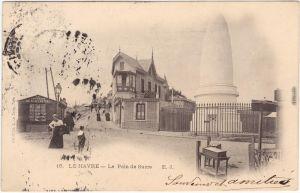 Le Havre Le Pain de Sucre Seine-Maritime Ansichtskarte CPA 1904