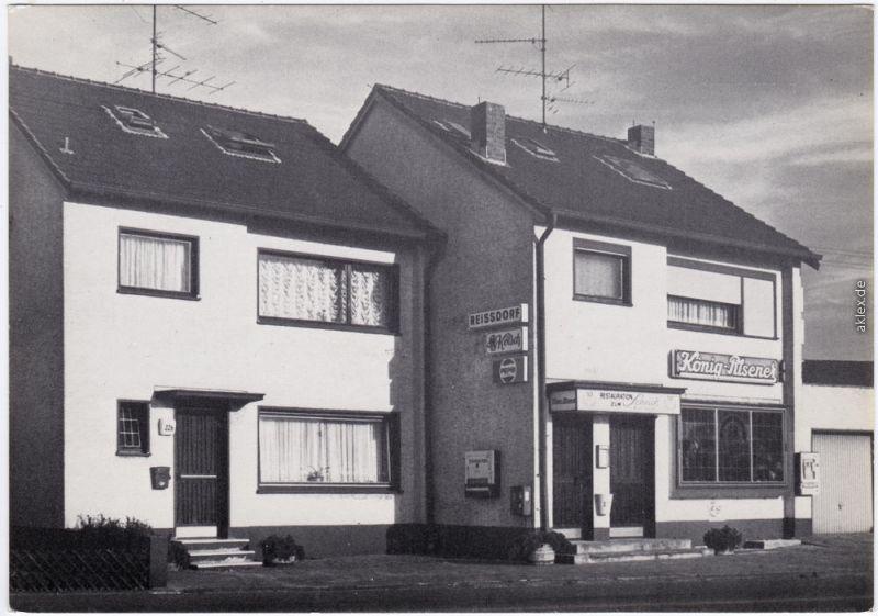 Ranzel Niederkassel Restauration zum Schich Deutz-Mondorfer-Str. 22 a 1970
