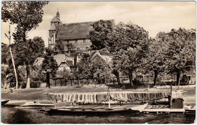 Foto Ansichtskarte Havelberg Blick zum Dom (Südseite) 1959