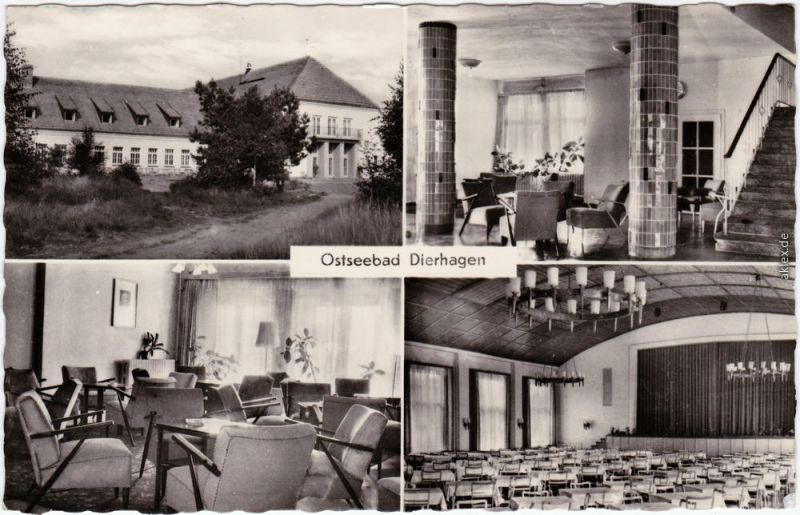 Dierhagen FDGB-Haus Ernst-Moritz-Arndt b Ribnitz Damgarten Rostock  1960