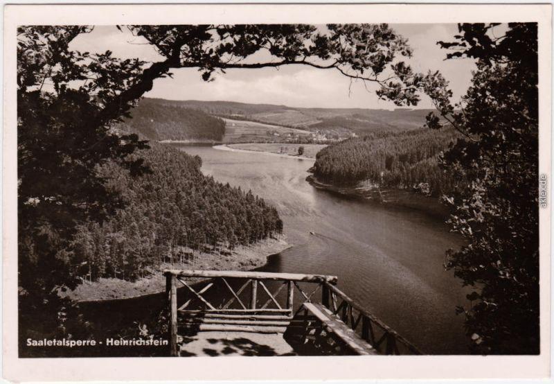 Saalburg Ebersdorf Am Stausee der Bleiloch-Saaletalsperre - Heinrichstein 1960