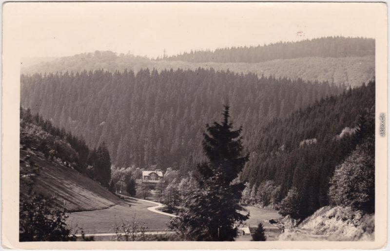 Schönbrunn Schleusegrund Tannenmühle im Thüringer Wald 1957